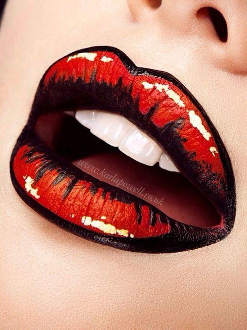Happy National Lipstick Day! #PopArt #Lips