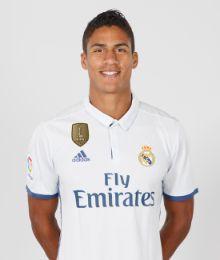 VARANE Defender, Real Madrid