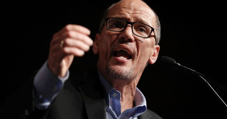 Democratic Party Draws A Line In The Sand On Abortion Rights  DNC chair Tom Perez said all Democratic candidates must support a woman's right to choose.