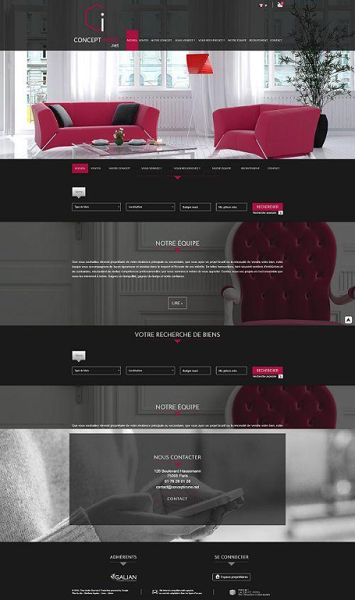 Vous voulez voir de superbes sites internet réalisés pour des agences immobilières ? #immobilier #web Ça se passe ici !