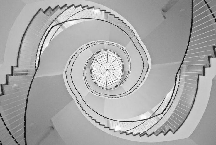 Circular Staircase Up by Matthias-Haker