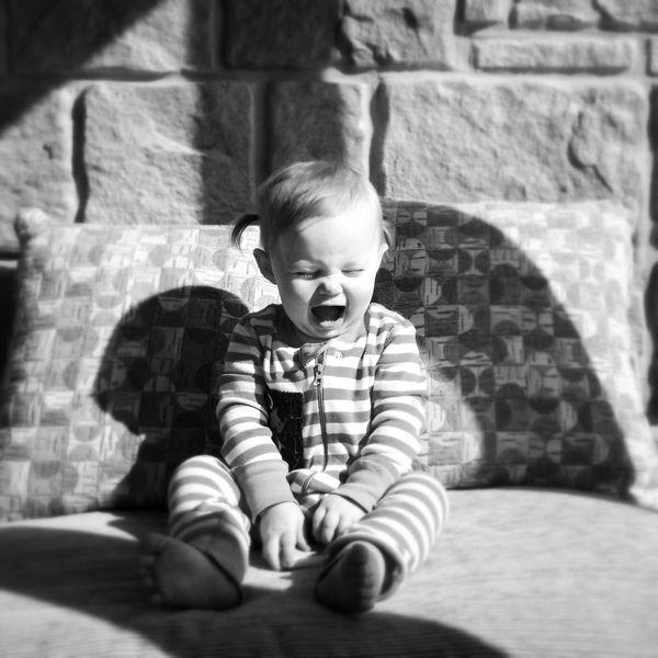 non voglio andare dalla #nonna! #fotografia bambino Tante altre idee cool per le mamme sul sito ❤ mammabanana.com ❤