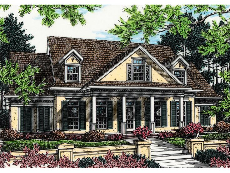 1000 ideas about southern country homes on pinterest for Southern country house plans