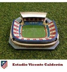 Precio [€29,00] Réplica estadio Vicente Calderón, del Atlético de Madrid Club de fútbol #atletico #madrid #estadio #futbol #soccercenterstore