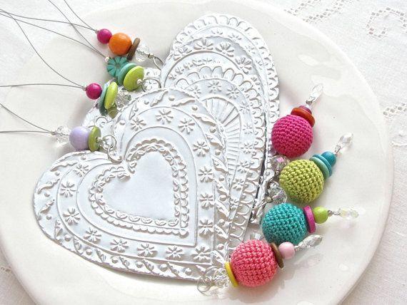 Boho Bohemian Room Decor Mexican Style Tin Heart by FoilingStar, $32.00