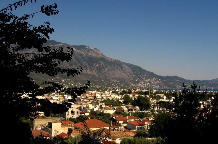 The town of Kalamata is situated at the apex of Messinian Bay, and at the foothill of the Mount Taygetos, between the Mani and Messini peninsulas - Kalamata Greece