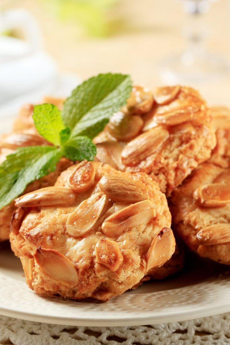 Italian Almond #Cookies Dessert #Recipe