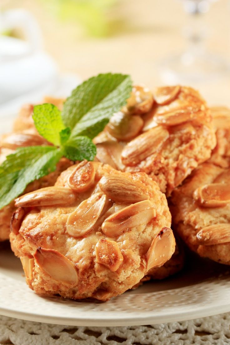 Italian Almond #Cookies Dessert #Recipe