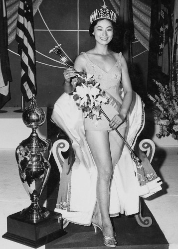 Miss Universe 1959  Akiko Kojima from Japan