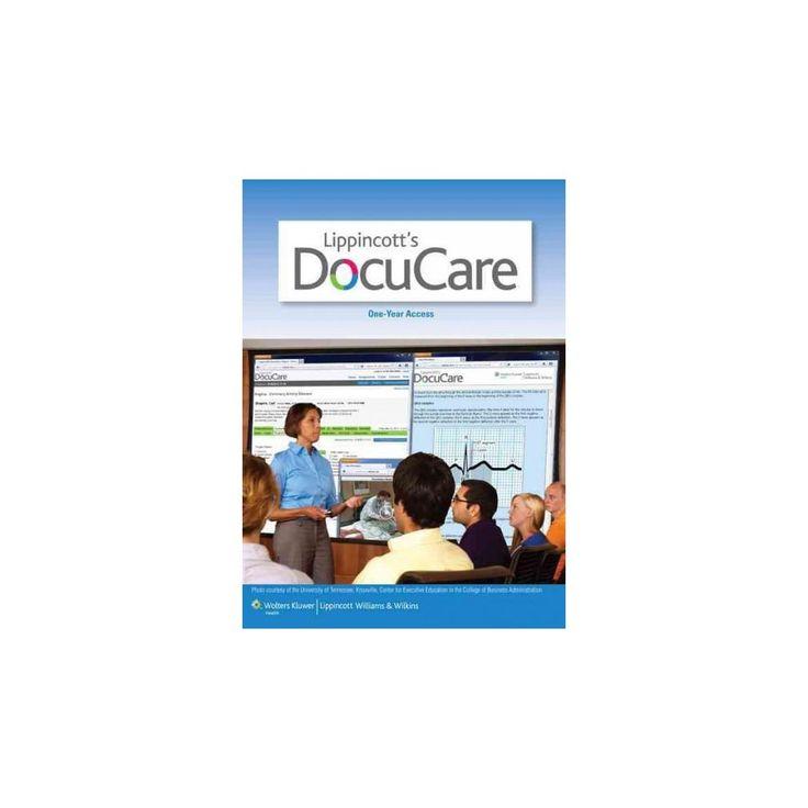 Lippincott Docucare, One-year Access + Lippincott Nursing Drug Handbook 2016 (Hardcover)