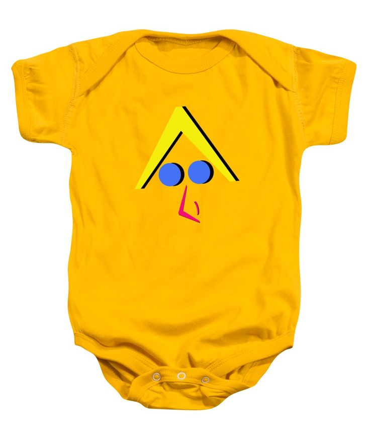 Geometric Art Baby Onesie featuring the photograph Selfie 013 by Bill Owen