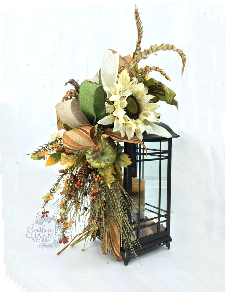 99 best fall lanterns images on pinterest fall lanterns for Images of lanterns decorated for christmas