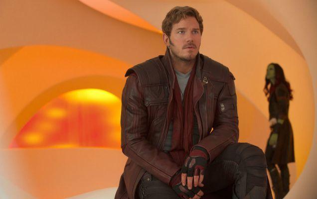Chris Pratt es Peter Quill en 'Guardianes de la Galaxia'.
