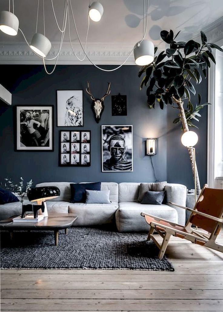 Black and white linen pillow cover Scandinavian modern – Kissenbezug Leinen – primitive stripes, cushion for minimalist interior | 0031