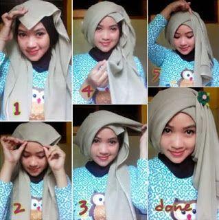 hijab, tutorial hijab, fashion hijab, hijab turban