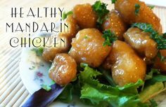 This Mandarin Chicken recipe is a delicious and healthy alternative to MDG filled Chinese food.