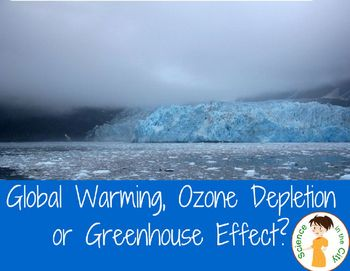 Global Warming, Greenhouse Effect, and Ozone... Students often get confused, and have many misconceptions about global warming, greenhouse effect, and ozone depletion. This pack is focused on teaching students the basics of each, and giving them a chance to compare and contrast.