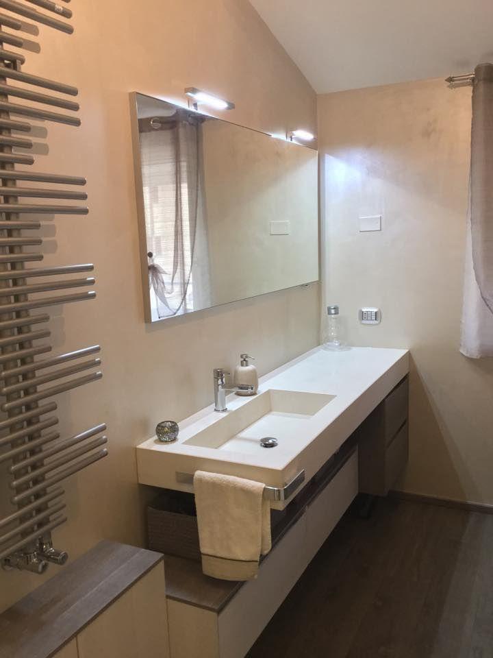 mensole lavabo bagno