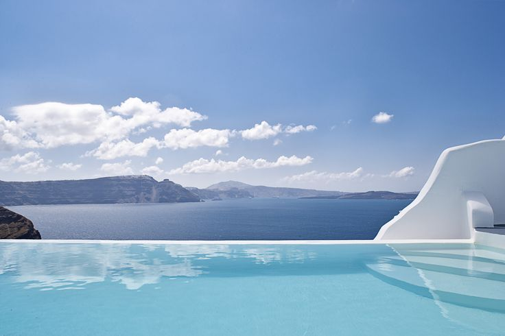 Waking up every morning at this view...  #AndronisExclusive #Santorini