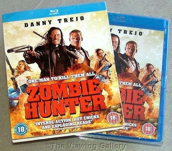 ZOMBIE HUNTER Danny Trejo BLU-RAY Martin Copping REGION B/2 Terry Guthrie NEW