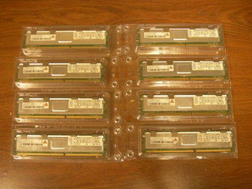 16GB Lot of 8 2GB DDR2 667MHz PC2 5300F FB DIMM RAM Memory IBM FRU 39M5790 | eBay