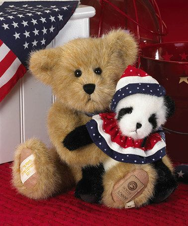 Another great find on #zulily! Frankie & Ben Plush Bear #zulilyfinds
