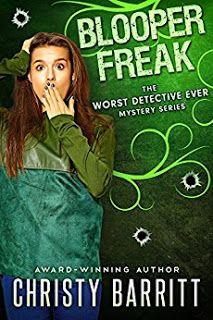 C Jane Read     : Blooper Freak by Christy Barritt