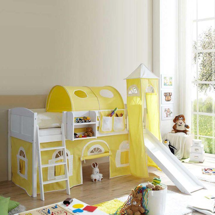 Beautiful Kinderhochbett In Weiß Gelb Gelb Weiß Jetzt Bestellen Unter:  Https://moebel.ladendirekt.de/kinderzimmer/betten/hochbetten/?uidu003dda106273 270a 5dee Ab47   ... Great Ideas