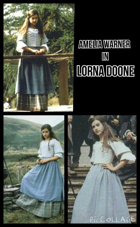 Amelia in Lorna Doone