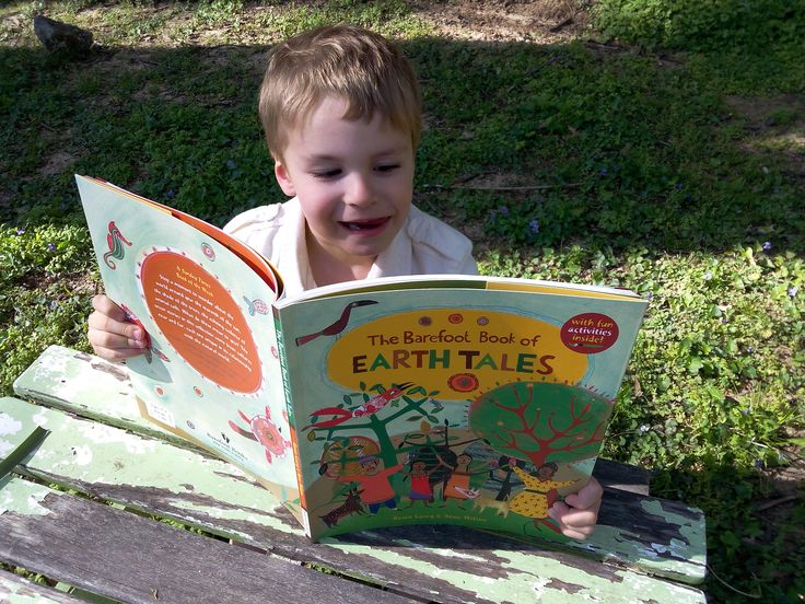 The Barefoot Book of Earth Tales, a diverse collection of global folk tales that inspire kids to take care of the planet. Each story is followed by a related craft activity.