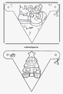 Los Niños: Γιορτινές Χριστουγεννιάτικες γιρλάντες