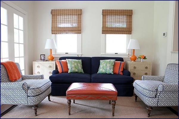 Best 133 Best Living Room Color Ideas Navy Blue Orange 640 x 480