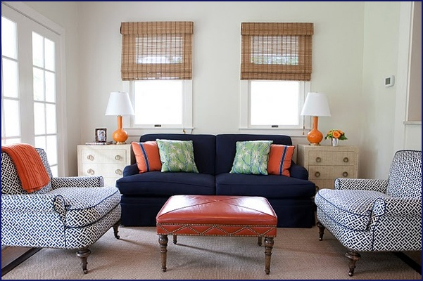 navy blue and orange living room 17 images about living room color ideas navy blue 25666