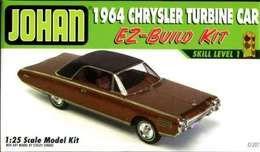 1964 Chrysler Turbine model car kits