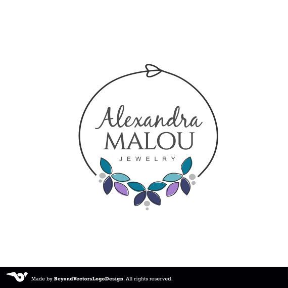 Jewelry Logo design Premade Small Business by BVLogoDesign on Etsy