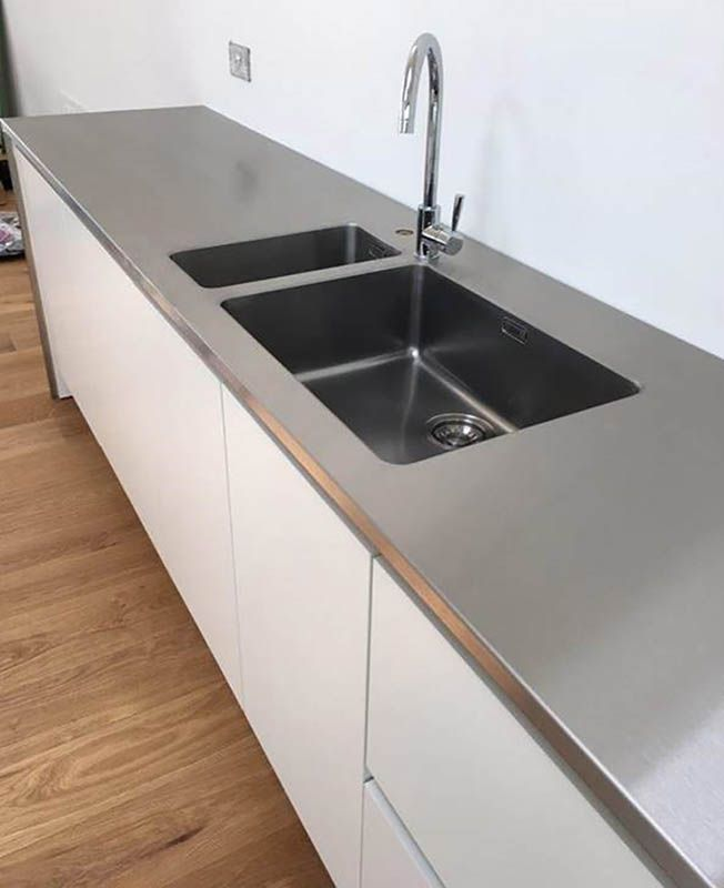 Gallery Of Some Projects By MPM Bespoke Stainless Steel Kitchens Worktops Splashbacks Island Units