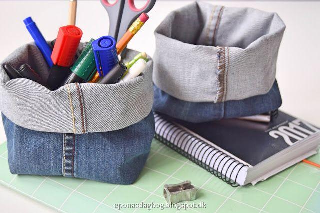 Genbrug buksebenene - DIY