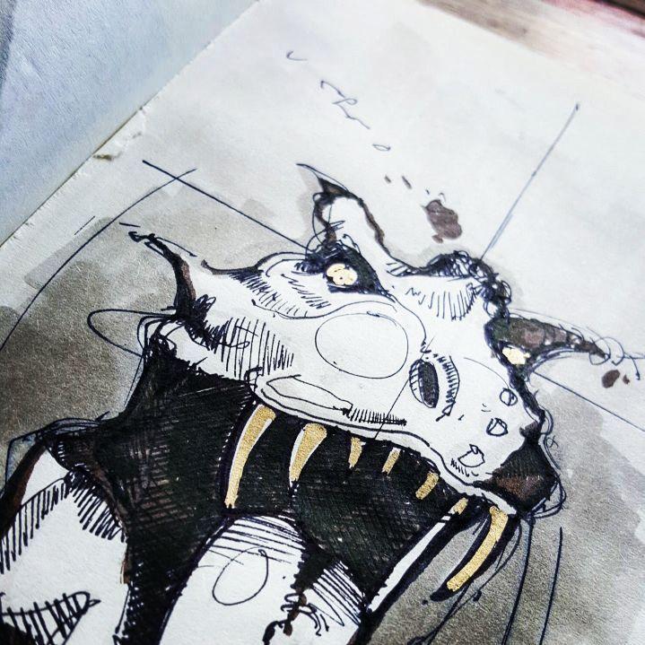 🐊  _______________________________  #sketchaday #characterdesign #illustration #drawing #sketch #sketchbook #art #sketching #drawing #copicmarker #pilotfineliner #worldofartists #procrastination #comics #artglobal #artistmafia #artempire #artgallery #art_spotlight #art_empire #art_collective #instaart #bangbangstudio #artwork #moleskin #copic #markers #concept #design #idsketching #speedsketch