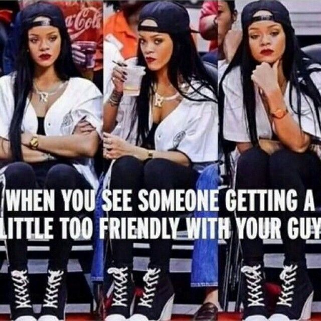 Funny Jealous Meme : When you see someone getting a little too friendly with