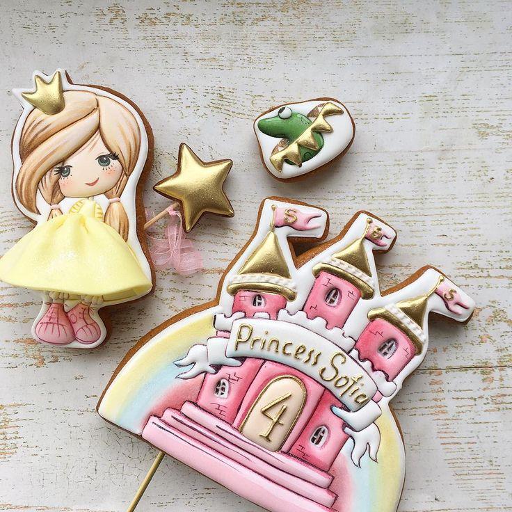 Картинка для пряника принцесса