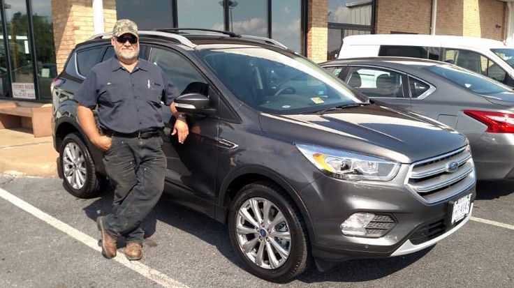 Thank you and congratulations Lewis Farrier on the purchase of your 2017 Ford Escape Titanium from Steve Price at Duncan Ford Lincoln Mazda in Blacksburg Virginia. #DuncanFLM