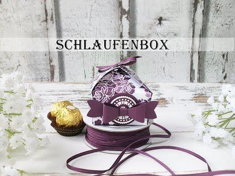 Schlaufenbox für Ferrero Rocher | Verpackung | Ribbon Treat Bag - YouTube