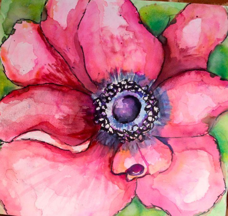 watercolor 5th grade