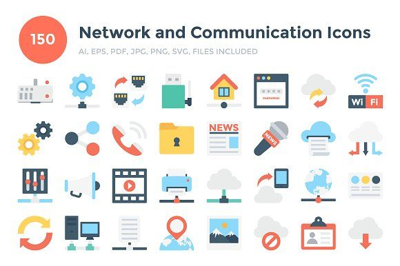 150 Network And Communication Icons Communication Icon Line Icon Png Icons
