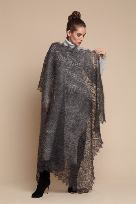 Shawl Graphite