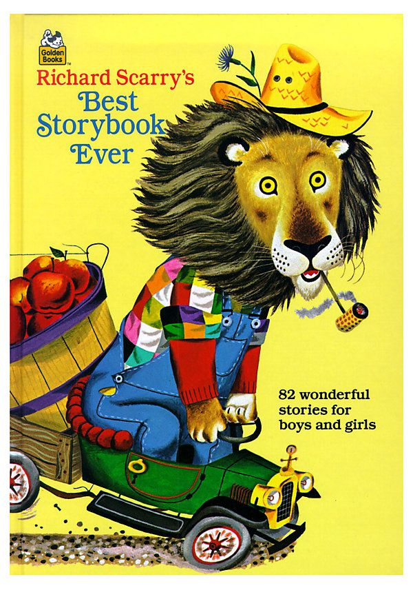 One Kings Lane - Bookworms - Richard Scarry's Best Storybook Ever!