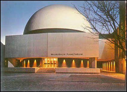 McLaughlin Planetarium postcard c. 1970