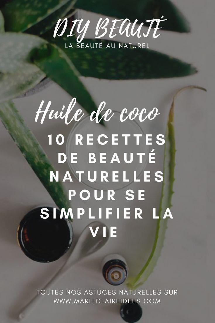 L'huile de coco c'est la nouvelle huile végétale qu'on utilise partout, aussi bien en cuisine qu'en salle de bain ! Elle possède de nombreuses vertus qui en font une base antibactérienne et nourrissante à la fois pour de nombreux produits de beauté ! Découvrez nos 8 recettes pour fabriquer vous mêmes vos produits de beauté avec de l'huile de coco !
