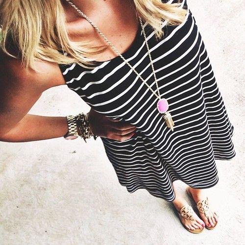 shopdandy: Easy stripes today! #ootd #outfit #liketkit www.liketk.it/2l3O
