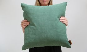 Skriver Collection - HotMadi square cushion green